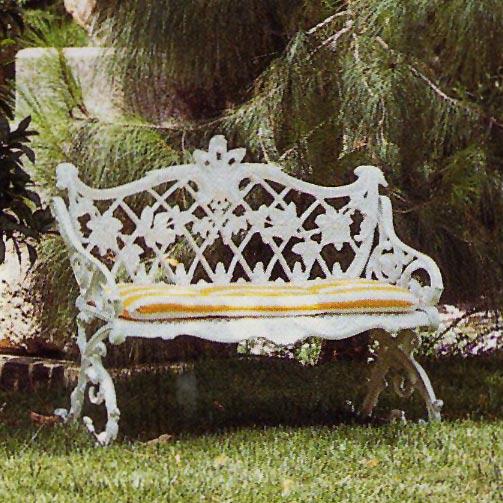 Mobiliario y decoraci n forjas art sticasforjas art sticas for Bancos de aluminio para jardin
