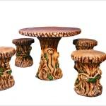 Mesa troncos