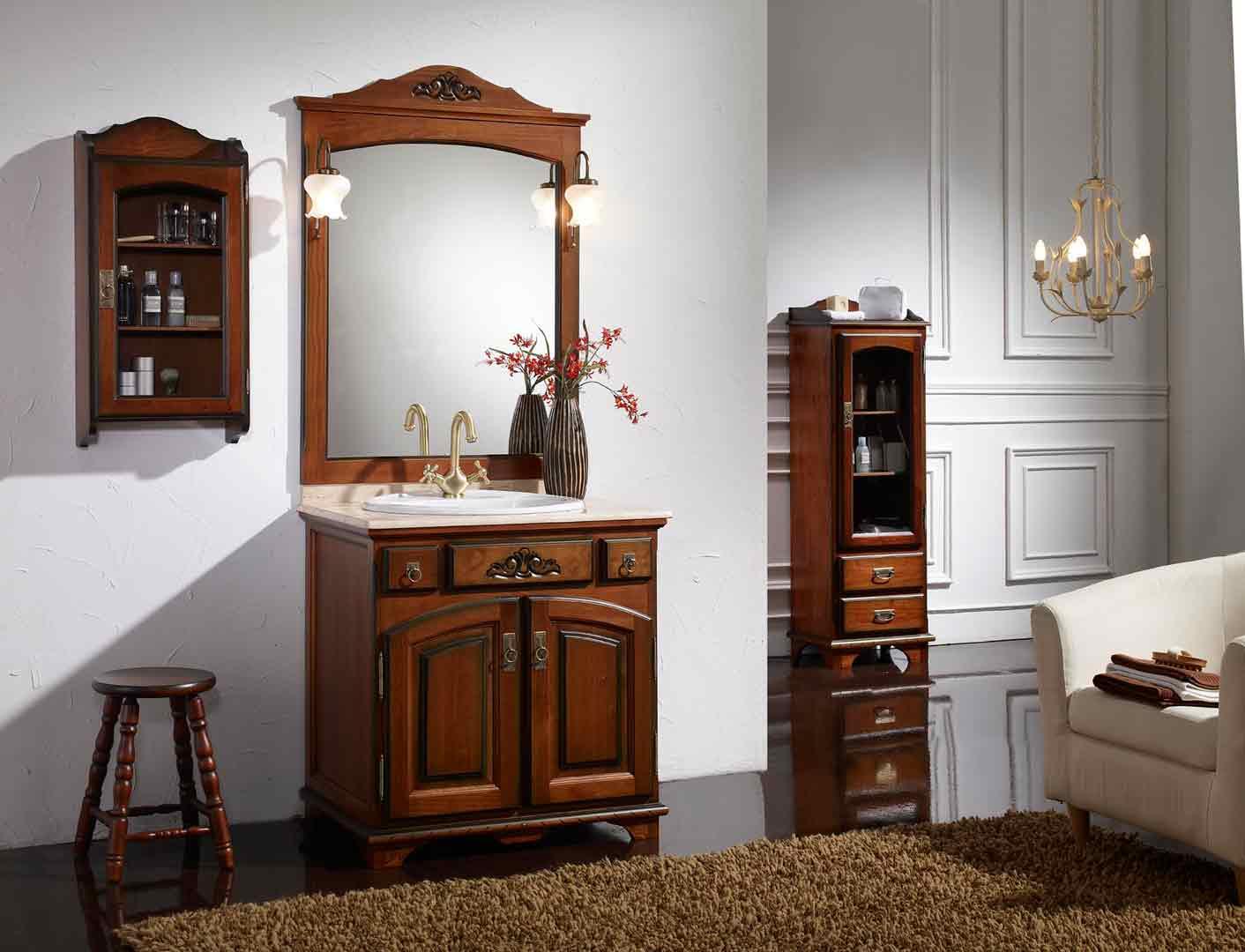 Mueble ba o indicadores calidad forjas art sticasforjas for Mueble lavabo rustico